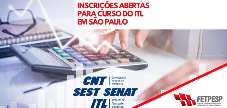 Reforço Inscrições curso ITL