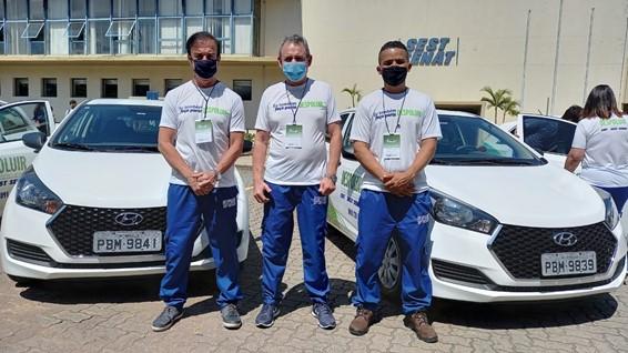 Equipe da FETPESP durante evento do Despoluir