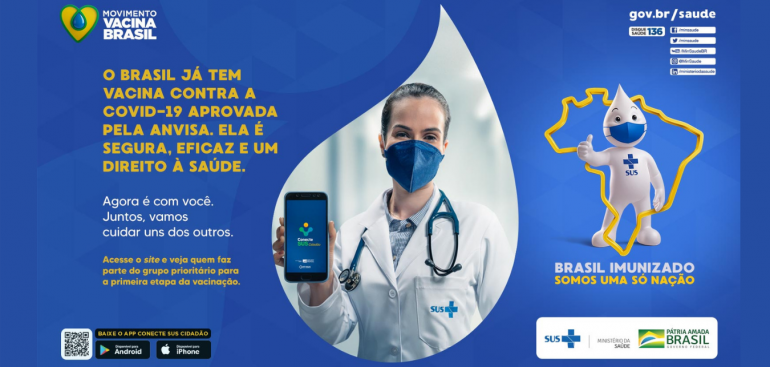 MINISTÉRIO DA SAÚDE SOLICITA AJUDA AO SETOR DE TRANSPORTE NA DIVULGAÇÃO DO APLICATIVO CONECTE SUS